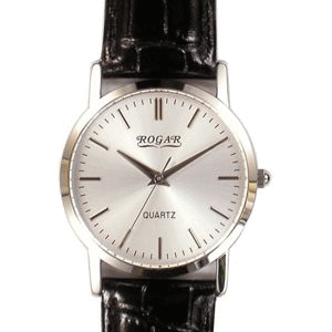 ロガール メンズ腕時計 RO-060MB-B1 [刻印可能]