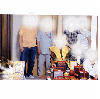 ご自宅でお母様の米寿祝い風景(2015年5月下旬)