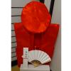 【Aセット】レンタルちゃんちゃんこ(赤・鶴亀柄)還暦のお祝いセット (基本セット)