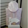 【Aセット】レンタルちゃんちゃんこ(ピンク・鶴亀柄)百寿のお祝いセット (基本セット)