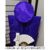 【Aセット】レンタルちゃんちゃんこ(紫・喜寿祝い・鶴亀柄)セット (基本セット)
