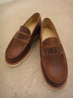 REVIVAL 90% PRODUCTS by Varde77 / U.S. OIL LEATHER ROAFER / BROWN