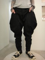 SIVA / BOT-CLT / CARGO RIDING STRETCH TROUSERS / INK