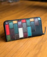 glamb / Gaudy zip wallet by JAM HOME MADE / Colorful