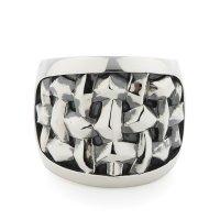 GARNI / Woven Oval Ring【取り寄せ商品】