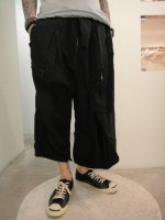 SIVA / BOT-CLT / FISHERMAN CROPPED PANTS / BLACK