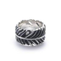 GARNI / Eagle Feather Ring - L【取り寄せ商品】