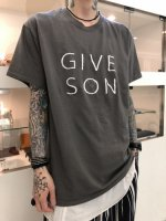 Varde77 / GIVE SON T-SHIRTS / CHARCOAL GRAY