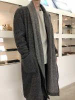 TROVE / MID SUMMER COAT / CHARCOAL GRAY