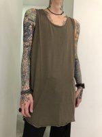 P.E.O.T.W AG / LONG TANK TOP / Olive