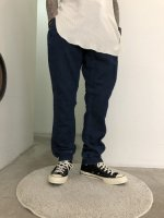 Varde77  / QUILTING LINE KNIT DENIM EASY PANTS / ONE COLOR