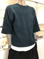 TROVE / PRASSI KNIT / BLUE GREEN