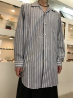 REVIVAL 90% PRODUCTS by Varde77 / NORMAL STRIPE LONG SHIRTS / B (NAVY)