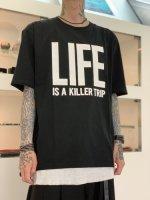 "WIZZARD / ARCHIVE PRINT CUTSEW ""LIFE"" / BLACK"