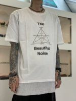 """WIZZARD / ARCHIVE PRINT CUTSEW """"The Beautiful Noise"""" / WHITE"""