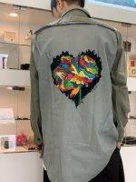 Varde77 -MAKEOVER- / JUNKIE HEART GRANDPA SHIRTS