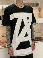 ANREALAGE / AZ logo tee / Black