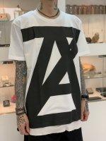 ANREALAGE / AZ logo tee / White