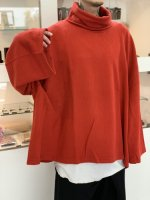 ANREALAGE / ZOOM TURTLE NECK LONG SLEEVE / Red