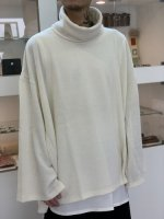 ANREALAGE / ZOOM TURTLE NECK LONG SLEEVE / White