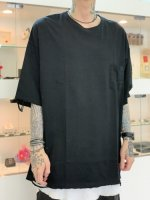 VICTIM / DAMEGE BIG TEE / BLACK