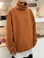 my beautiful landlet / blending knit high necked / Orange