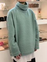 my beautiful landlet / blending knit high necked / Mint
