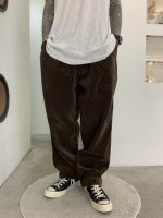 REVIVAL 90% PRODUCTS by Varde77 / 2TAC CORDUROY PANTS / BROWN