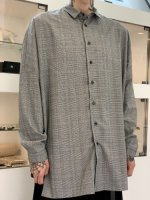 TROVE / UNI WIDE CHECK SHIRT ( NEW SPEC ) / GRAY