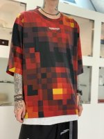 SHAREEF / MOSAIC PT S/S-T / Red