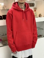 VICTIM / HEAVY PULL OVER PARKA / RED