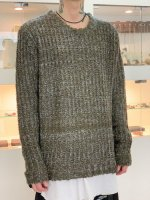 glamb / Brady big knit / Khaki