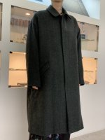 TROVE / LUU COAT / CHARCOAL GREEN