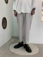 WIZZARD / TAPERED CROPPED TROUSERS / LIGHT BEIGE