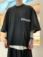 ANREALAGE / ZOOM ONE POINT TEE SHIRTS / Black