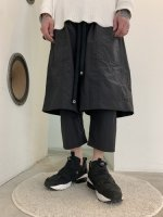 WIZZARD / LAYERED PANTS / BLACK