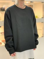 VICTIM / WIDE HEAVY SWEAT / BLACK