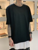 WIZZARD / BASIC PLAIN T-SHIRT / BLACK
