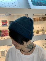 VICTIM×CA4LA / BASIC KNIT CAP / BLUE GREEN ※在庫はお問い合わせ下さい