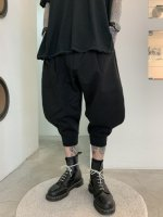 glamb / Carson cropped pants / Black