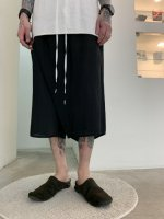 P.E.O.T.W AG / SKIRT SHORTS / Black