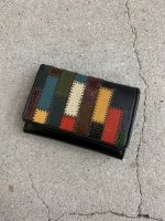 glamb / Gaudy mini wallet by JAM HOME MADE / Multi