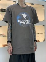 Varde77 / BUYING TOUR T-SHIRTS / CHARCOAL GRAY