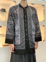 glamb / Bohemian stand collar SH / Black