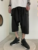 glamb / Basket short pants / Black