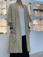 SUSPEREAL / gaze summer gown coat / Beige
