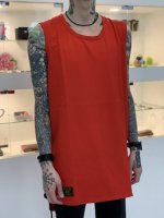 glamb / Nesta tank top set ※2枚セット / Red & White