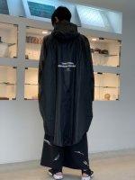 SUS / smart combat rain poncho / Black