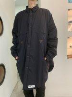 【予約商品】SIVA / TOO BIG BAGGY QUILTED SHIRT COAT / 1月発売予定  /  20年 8/31 〆切