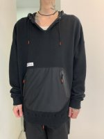 【予約商品】SIVA / DRAW CODE HOODED PULL JERSEY  / 2月発売予定  /  20年 8/31 〆切
